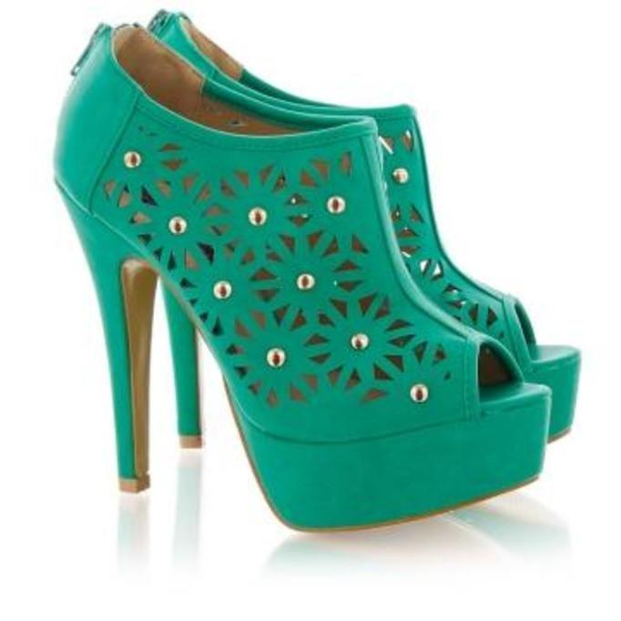 zielone botki