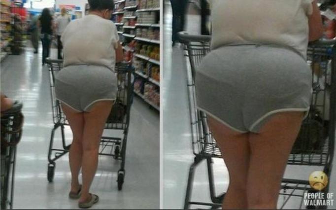 Dziwaczni klienci supermarketu