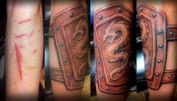 Nowy Dziwny Trend Tatuaże Na Bliznach Ukrywają Znamiona