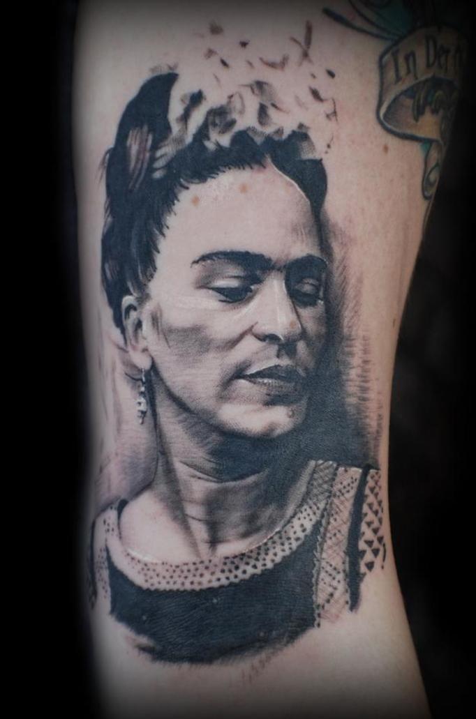Tatuaże Inspirowane Sztuką Wyglądają Zjawiskowo Rzucają