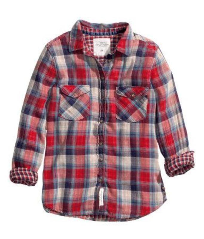 Koszula w katę - H&M, ok. 79zł