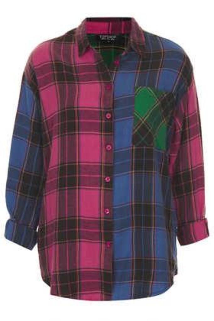 Koszula w katę - Topshop, ok. 149zł