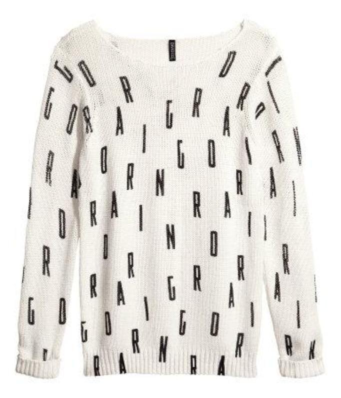 Sweter H&M, ok. 100zł