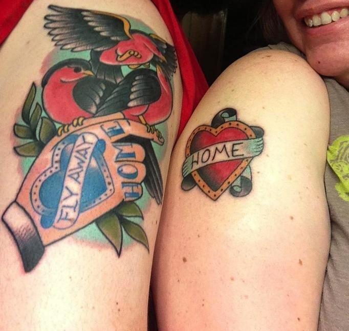Tatuaże Dla Zakochanych Uzupełniające Się Wzory Które Mają