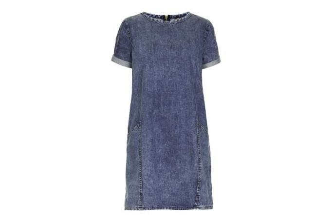dżinsowa sukienka top shop