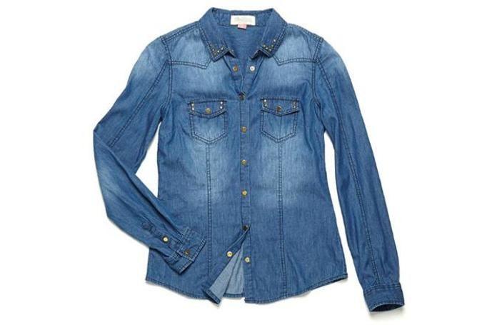 koszula dżinsowa cropp
