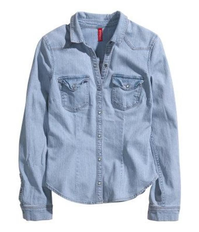 koszula dżinsowa h&m