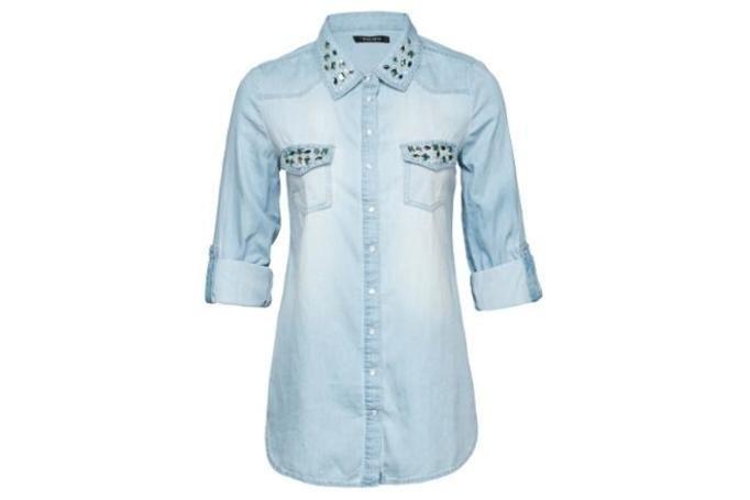 koszula dżinsowa new yorker