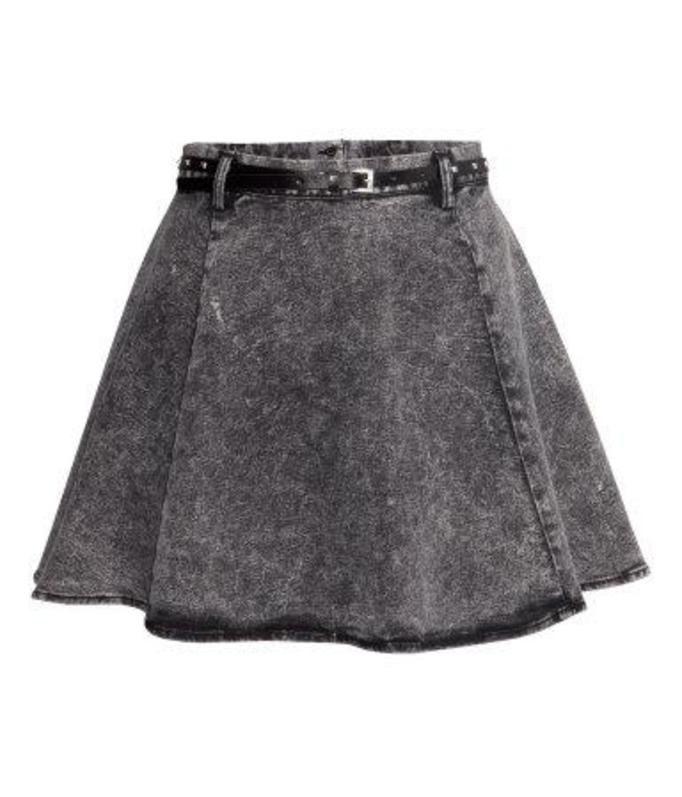 spódniczka dżinsowa h&m