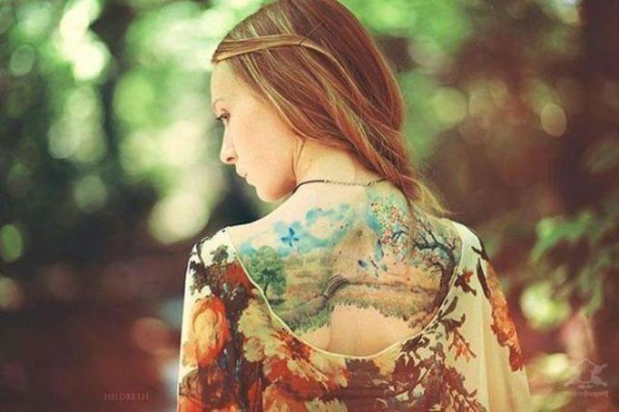tatuaż dla kobiety