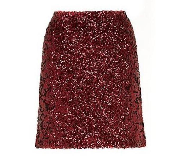Cekinowa spódnica New Look, ok. 100zł
