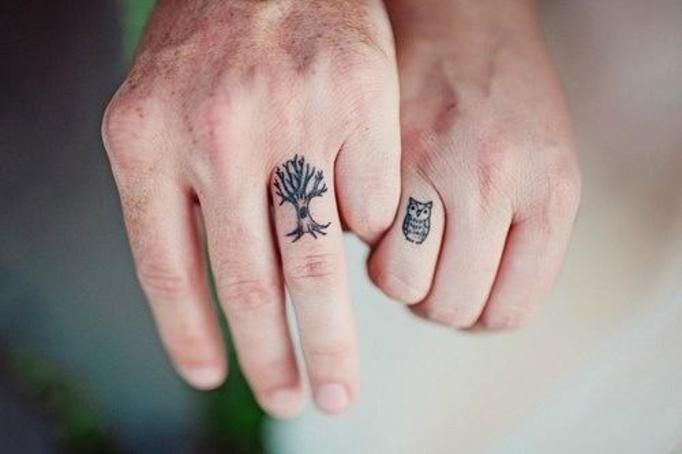 Tatuaże Na Palcach Tak Czy Nie Są Fajne Choć Zawsze Widoczne