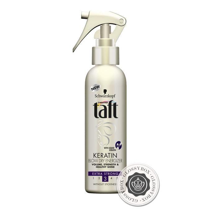 Keratin Complete Spray do włosów Blow Dry Energizer marki TAFT