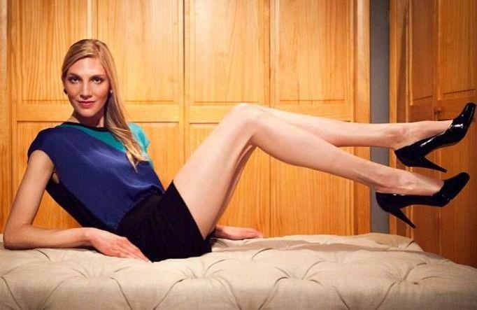najdłuższe nogi
