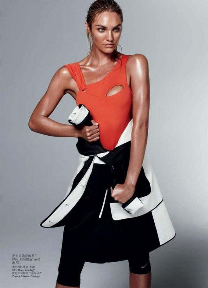vogue china sport models