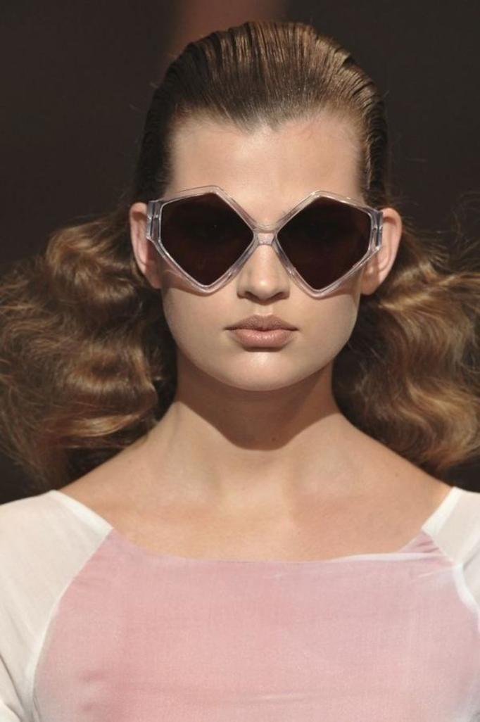 Geometryczne okulary