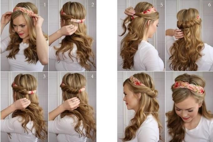 8 Pomysłów Na Szybkie Efektowne Piękne Fryzury Fotki Krok Po