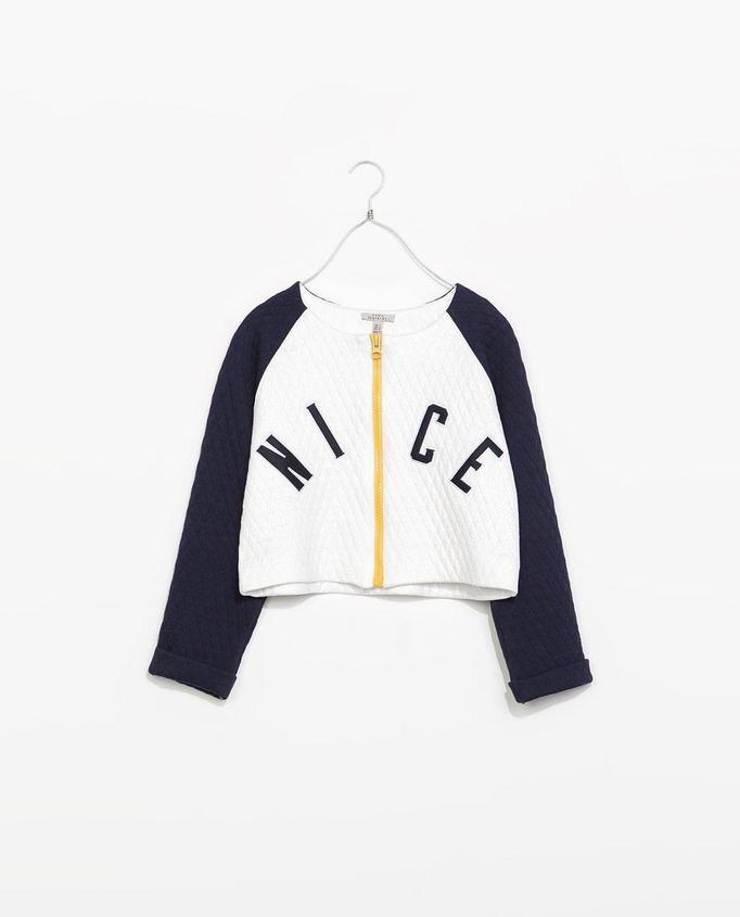 rozpinana bluza Zara, ok. 99zł