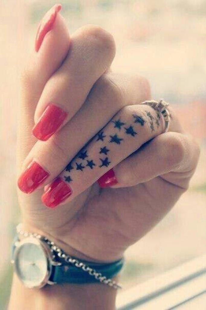 Tatuaże w wersji mini