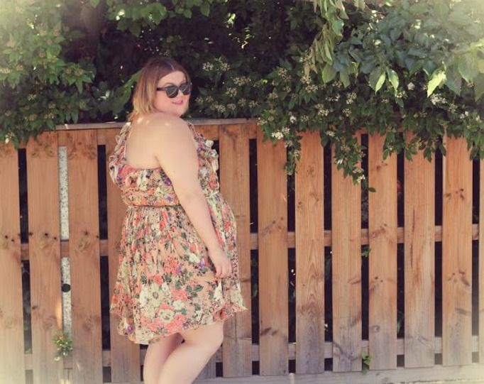 Blogerka plus size