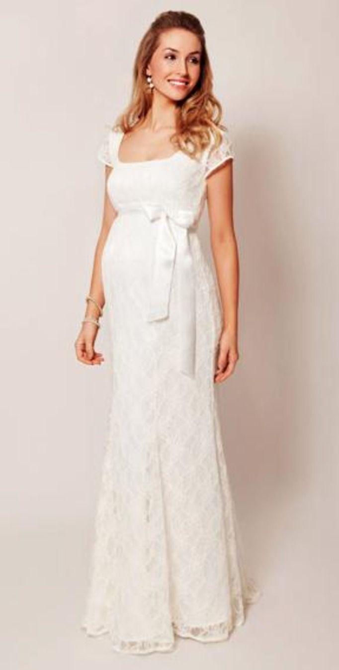 Suknia ślubna dla ciężarnej