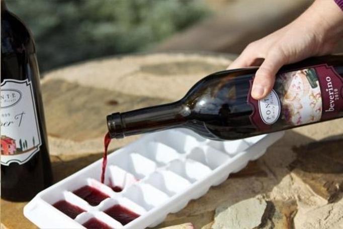 Kostki wina