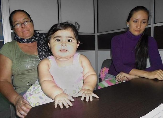 Najgrubsze niemowlaki w Kolumbii