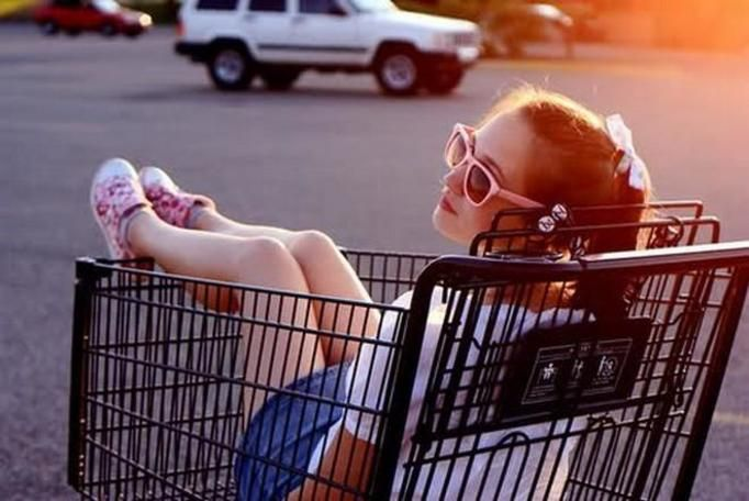 wózek sklepowy