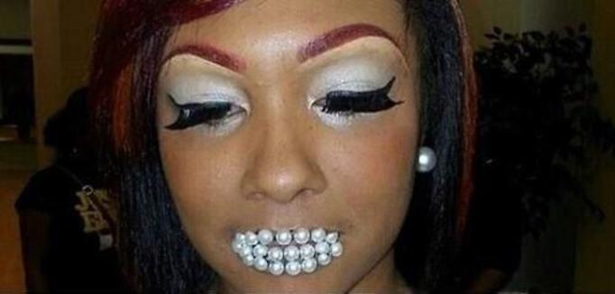 Dziewczyny z najbrzydszym makijażem