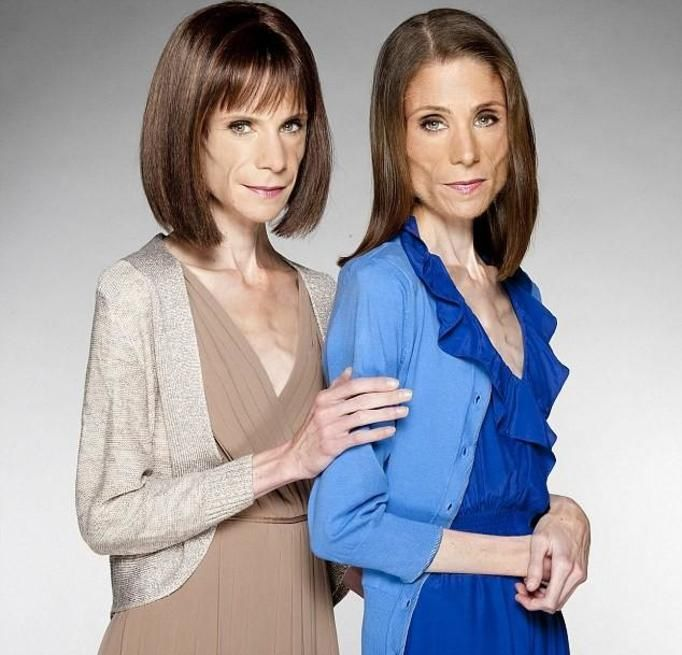 Maria i Katy Campbell