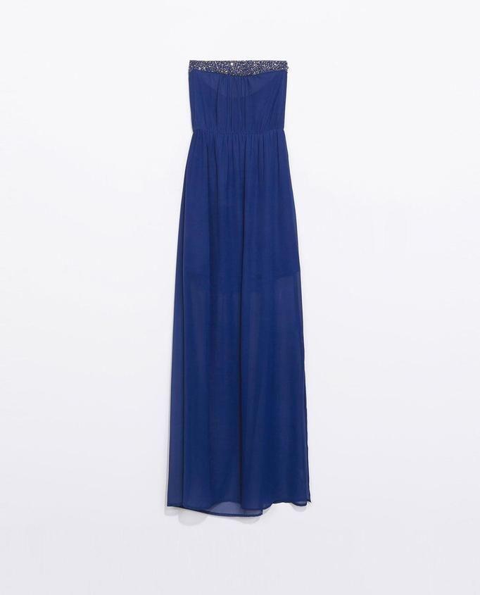 sukienka maxi Zara, ok. 169zł
