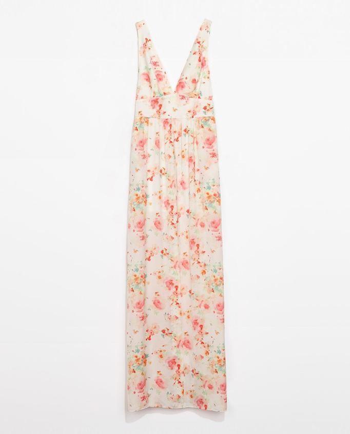 sukienka maxi Zara, ok. 199zł