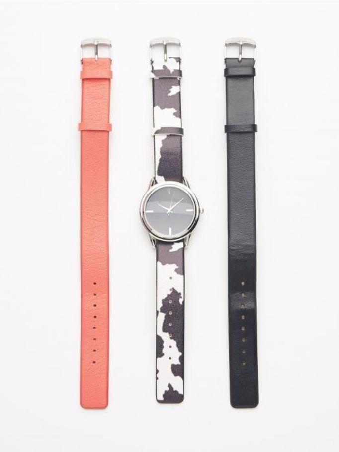 Zegarek + wymienne paski Reserved, ok. 89zł
