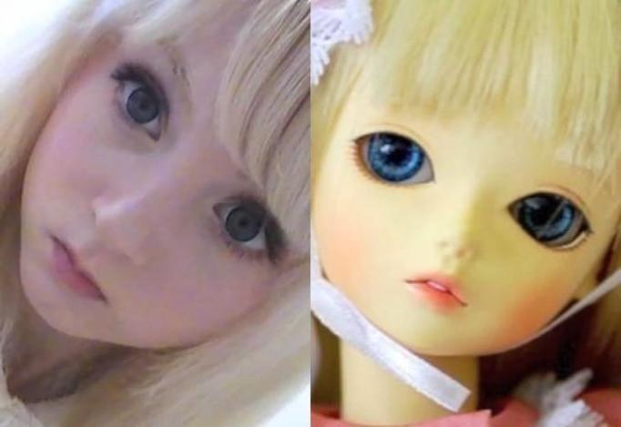żywa Barbie