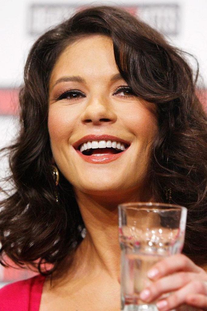 Catherine Zeta Jones teeth