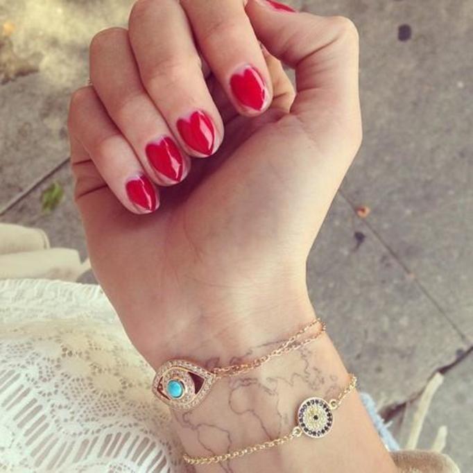 Chiara Ferragni nails