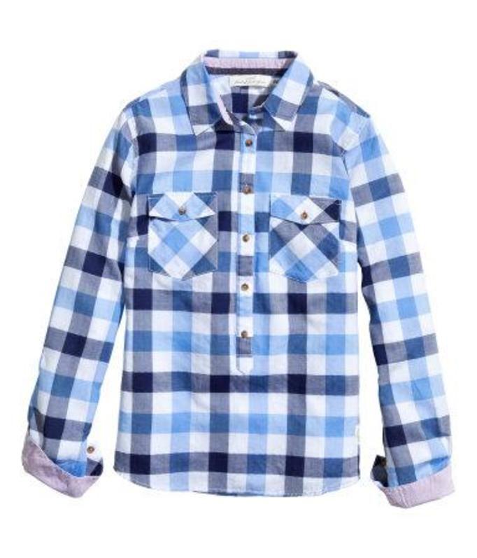 koszula w kratę H&M, ok. 79zł
