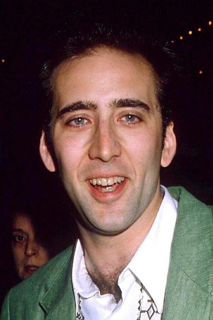 Nicolas Cage teeth