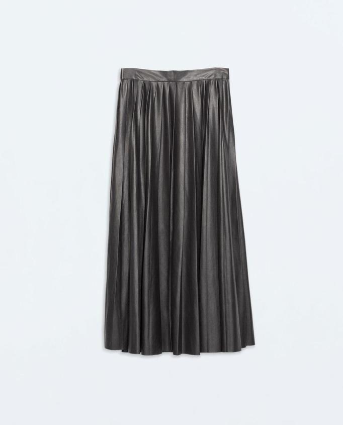 plisowana spódnica Zara, ok. 199zł
