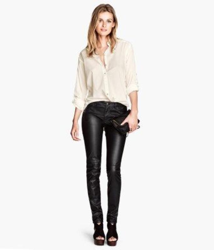 Skórzane spodnie
