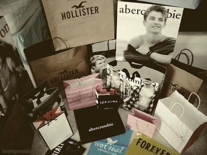 torby z zakupami