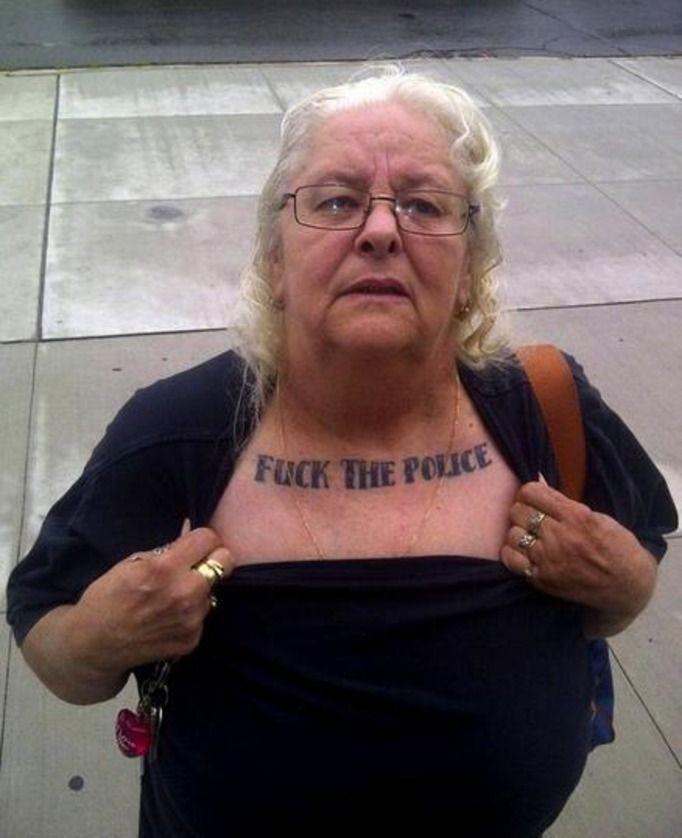 Babcie Z Tatuażami Sprawdź Jak Wzory Na Ciele Wyglądają Po