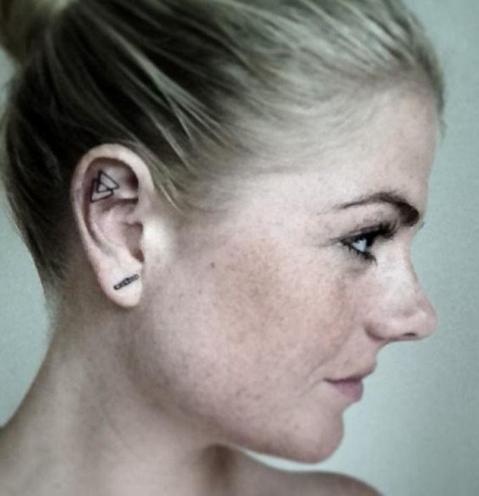 Tatuaż w uchu