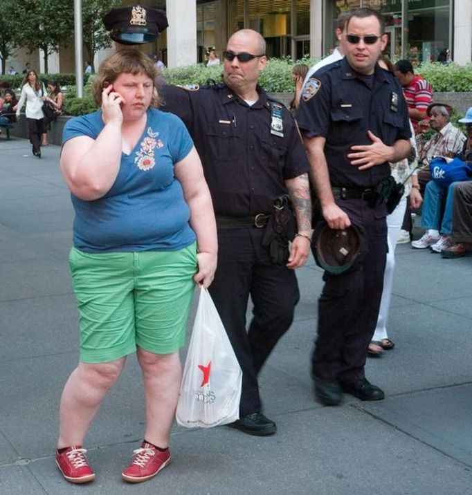otyła kobieta