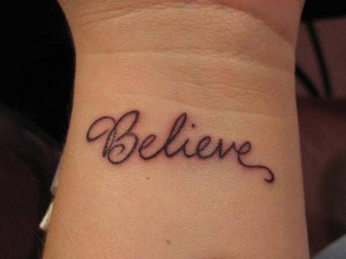 Marzysz O Jednowyrazowym Tatuażu Faceci Podpowiadają Które