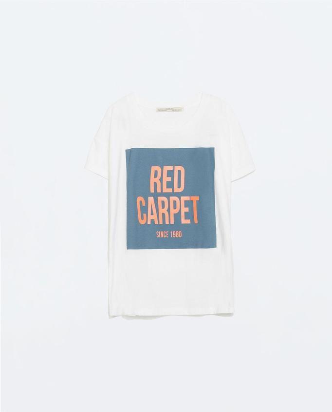 T-shirt Zara, ok. 49zł