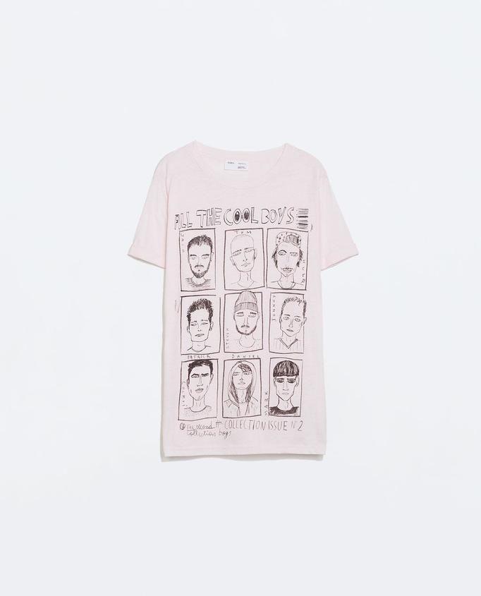 T-shirt Zara, ok. 59zł