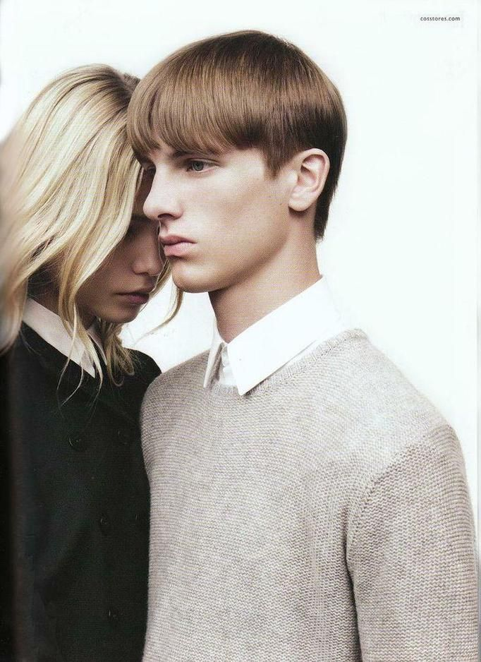 fashion couple editorial