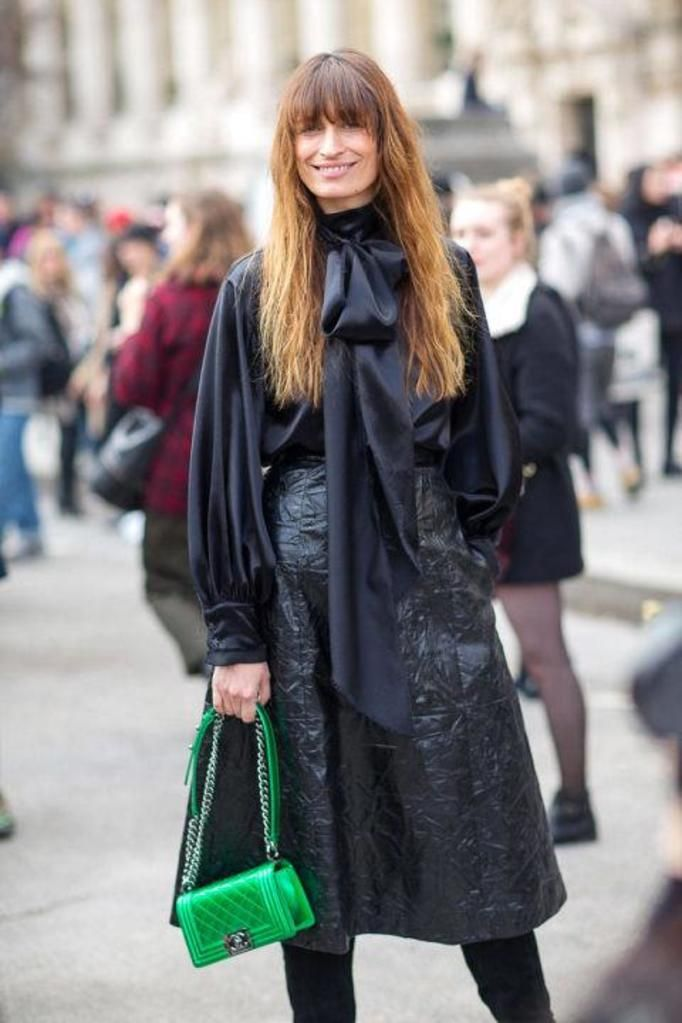 color bag street style