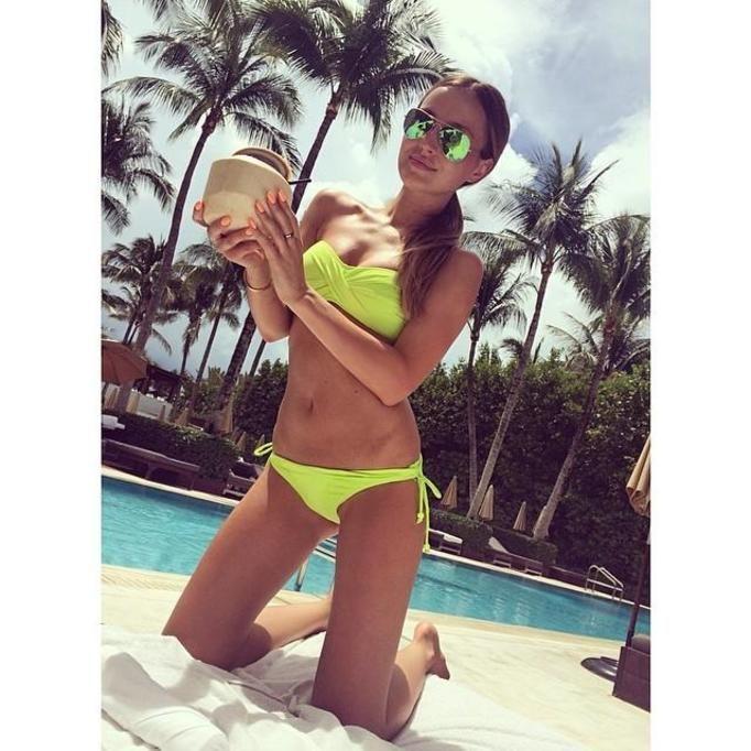 Marina Łuczenko w bikini